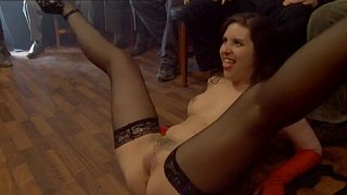 spanked in front of witnesses